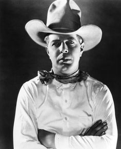 Hoot Gibson (August 6, 1892 – August 23, 1962) was an American rodeo champion and a pioneer cowboy film actor, director and producer.