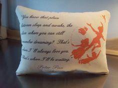 Peter Pan nursery handmade baby shower gift by SweetMeadowDesigns