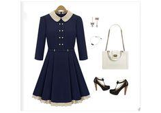 Polo Neck Belt in Waist Short Casual Dress #celebrities# #taylor swift# #cute# #short dress#
