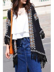 Lush Floral Kimono Blouse 39