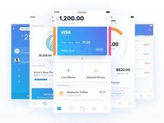 Finley App Redesign by Dmitri Litvinov [@dmiiitri] on @dribbble -