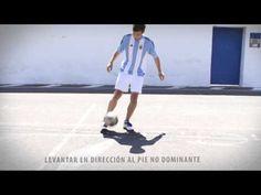 Triple aire truco de futbol espectacular