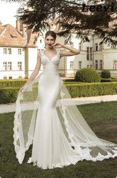 Resultado de imagen para vestidos de boda sirena