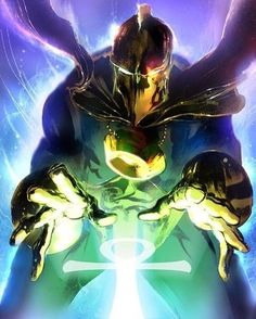 Doctor Fate!!  Artist: Stuart Sayger!!  #DoctorFate #DC #DCComics #Comics by legendary_comics