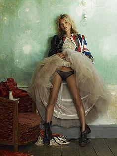 Mario Testino - (model Kate Moss)