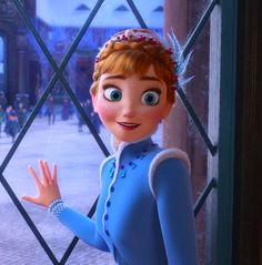 Anna Frozen, Olaf Frozen, Frozen Disney, Princesa Disney Frozen, Frozen Art, Frozen Movie, Anna Disney, Cute Disney, Disney Girls