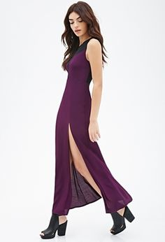 Illusion Neckline Maxi Dress - Splash out in Ridiculously Sexy Holiday Dresses ... → Fashion Zigzag