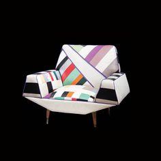 Un sillón de diseño de 1960 que encontramos en Duggan Krause Antiques.  DyD 136