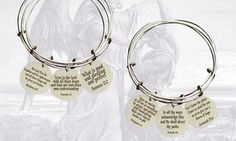 Groupon - Holy Scripture Bangles by Pink Box. Groupon deal price: $8.99