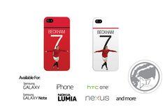 Man Utd David Beckham Hard Phone Case - Manchester United iPhone Case,  Soccer Nexus Phone Case Ggmu galaxy case, beckham phone case by Graphics17 on Etsy