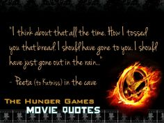 The Hunger Games Quotes | The Hunger Games THG Movie Quotes.