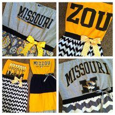 Mizzou Missouri Tigers Football Homecoming by GoesAroundComesAroun, $25.00