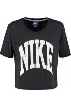 Camisetas de mujer - Nike Sportswear Camiseta print black/white