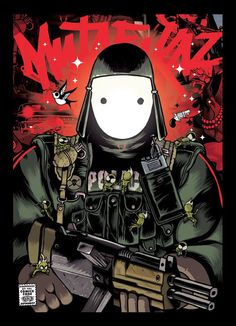 Mutafukaz - comics by Run / Ankama Editions