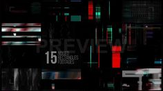 Glitch Elements Pack Stock Motion Graphics on Vimeo