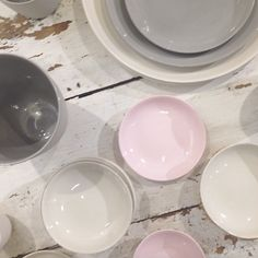 COLOR INSPIRATION #pastel #ceramics #NewYork