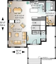 1000 images about plans on pinterest house plans html for 32x32 house plans