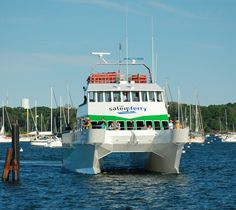 The Salem Ferry Season is upon us!  Available June 8th-October 31st, this fun ferry ride drops you off in the heart of witch country.  Enjoy the ride!