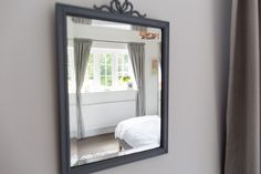 Vintage Salvaged Mirror - Image By Little Beanies