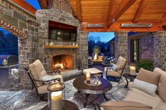 Fireplaces and fire pits can bring light and heat to your landscape. Our custom outdoor fireplaces come fully customizable from wood burning to propane fire pits. Landscape Architecture, Landscape Design, Wood Burning Fire Pit, Fire Pit Designs, Patio Heater, Outdoor Kitchen Design, Delaware, Relax, Warm