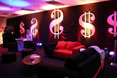 vegas themed party ideas | Vegas Nights | 21st Birthday Party IdeasVegas Nights - You haven't ...