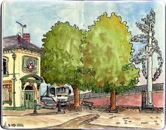 Urban Sketchers: New Urban Sketchers Chapter: Southampton, United Kingdom