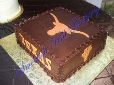 UT Longhorn Groom's Cake