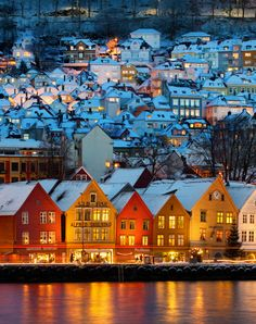 Bergen, Norway. Supposedly a great uncle was the giant man of Bergen in generations past. What a beautiful place!