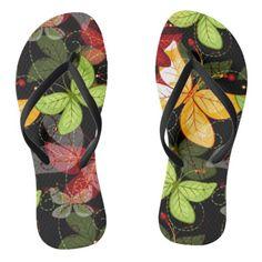 Shop Dark Autumn Pattern Flip Flops created by cuteoverload. Best Flip Flops, Cute Flip Flops, Dark Autumn, Butterfly, Footwear, Pattern, Shopping, Fashion, Moda
