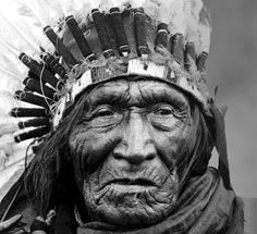 One of the greatest lessons that the First Americans left for our considering: respect and honor for the most aged among the tribe family. There is a reason this face looks so beautiful ... it derives directly from the mystery of its explanation ... this unknown lurks in the eye of the young viewer ... and causes their eye to see a beauty not theirs as yet ... a mystery of wisdom, a mystery of past days lived make this face beautiful to the young. If you are young - this is a beautiful face.