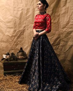 Lehenga for Women: Buy Lehenga Choli Online in India at Cheapest Price Choli Designs, Lehenga Designs, Lehnga Dress, Lehenga Choli, Anarkali, Brocade Lehenga, Bollywood Lehenga, Lehenga Blouse, Party Wear Lehenga