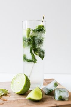 Mojito ice cubes | Sugar & Cloth