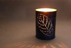 Lanterne Da Giardino Fai Da Te : Diy tutorial tin can lanterns weddings