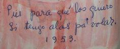 escrito por Frida Kalho.