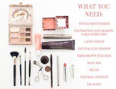 Beauty DIY: Everyday Natural Makeup