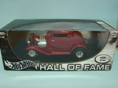 Hot Wheels Metal Collection 1/18 Scale Hall of Fame 1932 Ford Limited Edition Die-Cast Metal Car