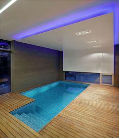 Fesselnd Pool Beleuchtung LED Modernes Haus Kroatien Urlaub