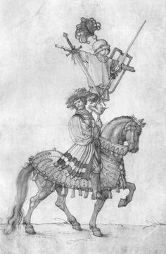 Artist: Dürer, Albrecht, Title: Der große Triumphwagen, Detail: Die böhmische Trophäe, Date: 1518