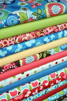 "Marcus Fabrics. Laura Derringer's ""Spintastic"" !!! I love it all"