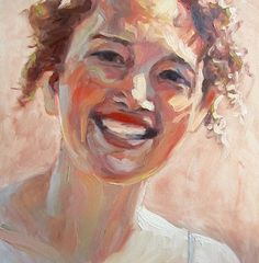 Portrait Oil Painting... Custom Original Art, Impressionistic, Wall Decoration, Home Decor, Fine Art, up to 9x12