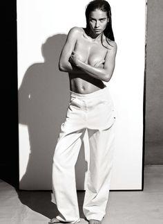 Adriana Lima by Robbie Fimmano for Interview Magazine Germany April 2014