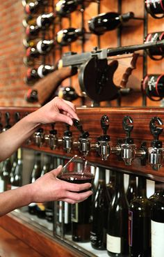 For use in SF secret room wine bars, cool bar, drink, cool wine bar, tap, speakeasi wine