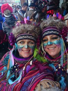 Indiaan Vastelaovend Venlo 2018 Joker Makeup, Clown Makeup, Costume Makeup, Festival Gear, Festival Costumes, Festival Fashion, Coachella, Creative Eyeliner, Adult Face Painting