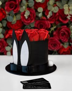"THE INFINITY ROSES ROMANIA™ on Instagram: ""Bunny Box 🐰➖150RON➖"" Infinity, Bunny, Roses, Birthday Cake, Box, Instagram, Infinite, Cute Bunny, Snare Drum"
