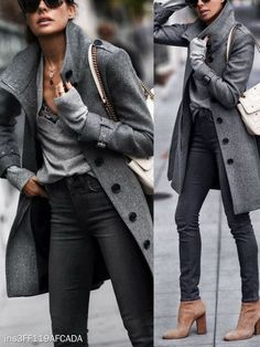How To Coordinate Your Accessories For A New Look – Fashion Trends Fall Winter Outfits, Autumn Winter Fashion, Fall Outfits For Work, Mode Outfits, Casual Outfits, Fashion Outfits, Fashion Ideas, Ladies Fashion, Classic Womens Fashion