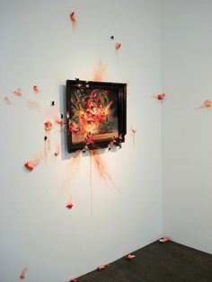 """"""" Exploding Peaches """" by Valerie Hegarty"""