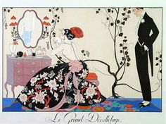 art deco by (George Barbier)