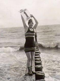 January 1st, 1922 -- A California glamour shot, I'll bet.
