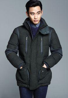 ZIOZIA Winter 2013 Ad Campaign Feat. Kim Soo Hyun   Couch Kimchi