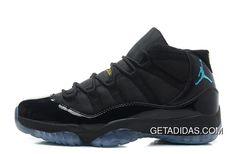 fb6224c2b3c Air Jordan 11 Black Gamma Blue-Black-Varsity Maize For TopDeals